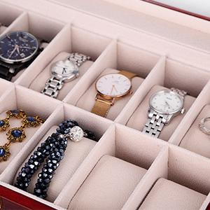 scatola porta orologio