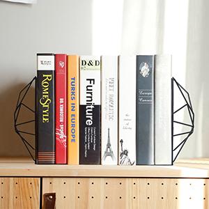 ufficio biblioteca Oro Cvive scuola reggilibri per libri per casa in metallo e ferro regolabile