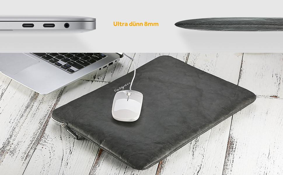 13 3 pc portatili custodie borse macbook custodia astuccio manica tessuto borsellino borsetta