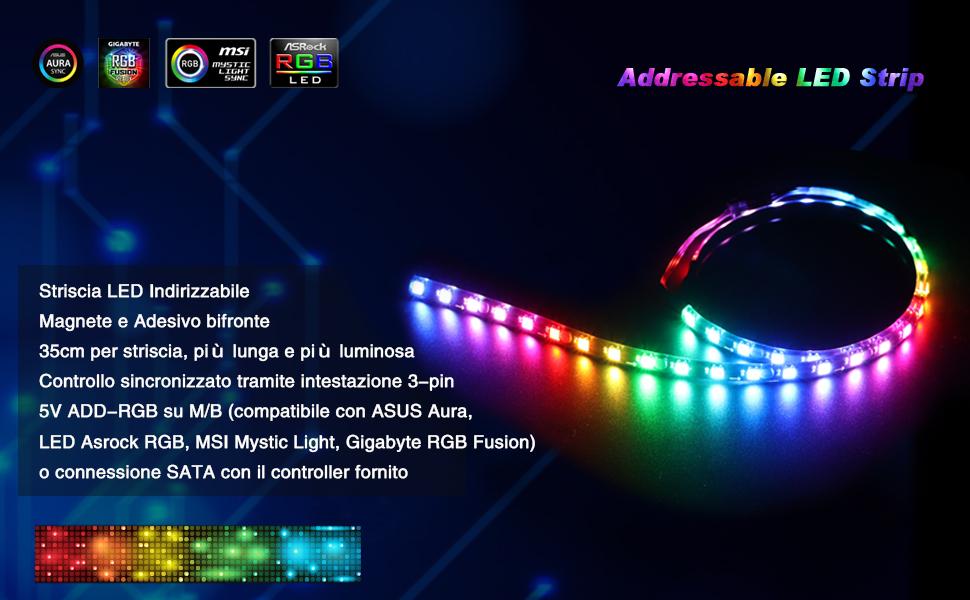 addressable pc light strip