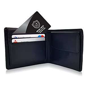 rfid blocking carte di credito wallet men women block protezione passaporto slim schermo blocco