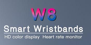 W8 Smart Wristbands