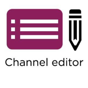 Editor del canale