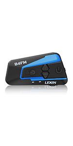 LX-R6 Intercomunicador de motocicleta de Bluetooth Casco Comunicador Auricular · Intercomunicador LEXIN B4 Casco Con FM hasta 4 pasajeros hablan al mismo ...