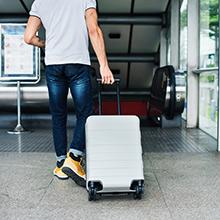 borsa da viaggio grande valigia check-in bagaglio