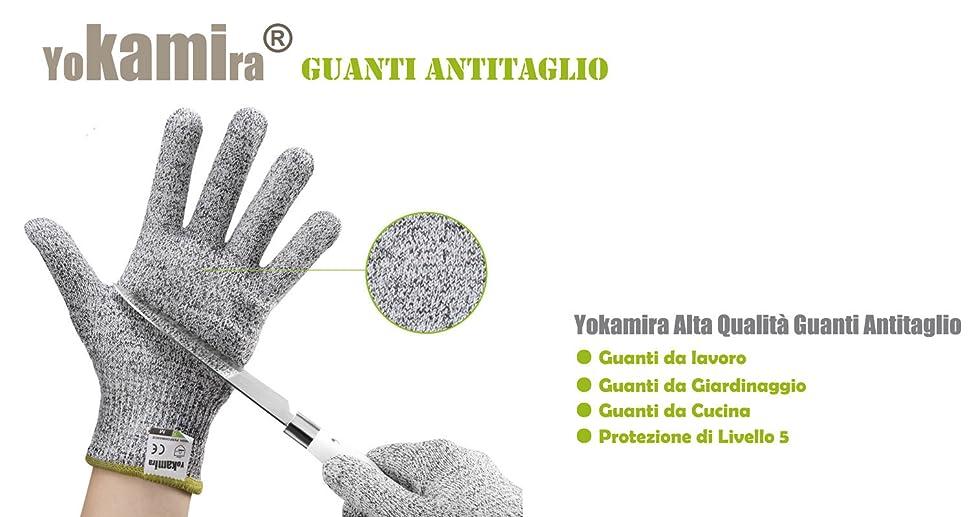 Yokamira guanti antitaglio guanti da lavoro guanti da giardinaggio guanti da cucina - Guanti da cucina ...