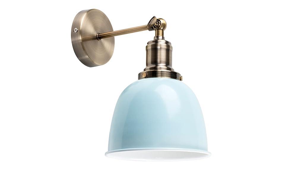 Minisun moderna lampada da parete con un tocco retrò e braccio