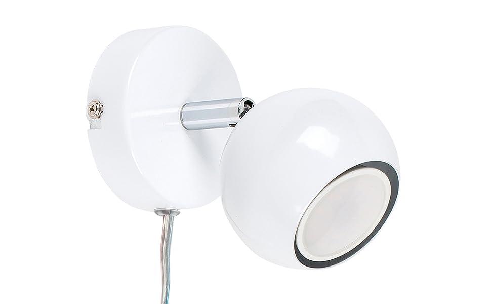 Plafoniere Minisun : Minisun faretto moderno singolo e rotondo con una finitura