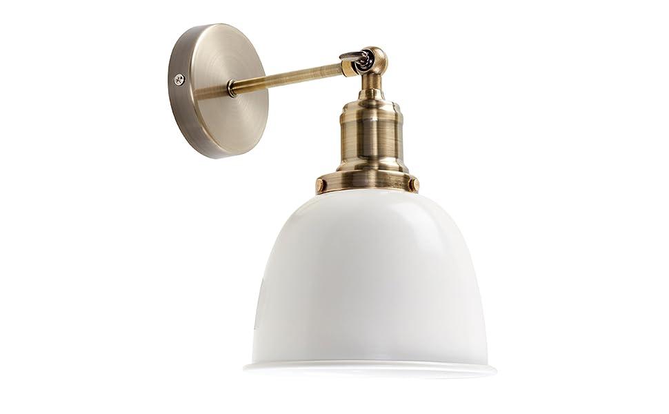 Minisun moderna lampada da parete con un tocco retrò con
