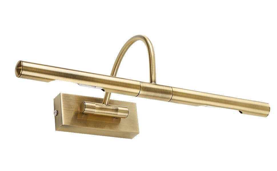 Plafoniere Minisun : Minisun lampada da parete moderna per quadri con 2 luci
