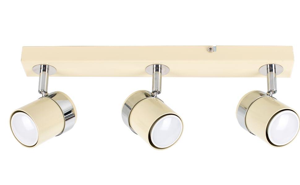 Plafoniere Minisun : Minisun plafoniera moderna su binario con luci spot