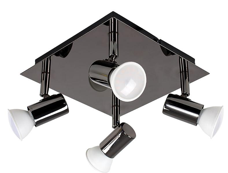 Plafoniere Minisun : Minisun plafoniera moderna quadrata e bella con una finitura