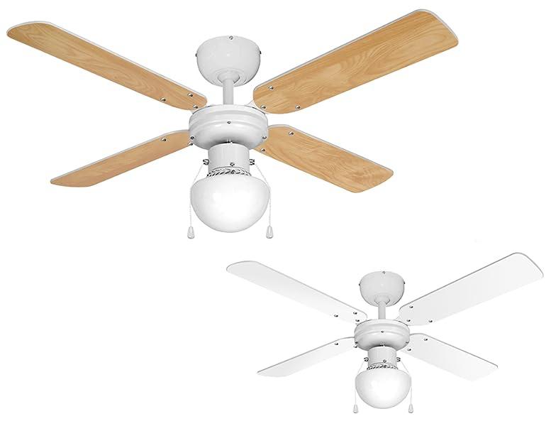 Plafoniere Con Pale : Minisun ventilatore da soffitto moderno con luce e bellissime