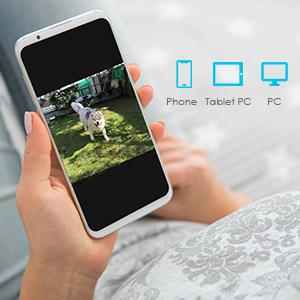 ieGeek Telecamera di Sorveglianza 1080P Telecamera Wi-Fi Esterno, Antenna 5dBi Wi-Fi più Potente, Videocamere di Sicurezza con Audio Bidirezionale, Luci IR 36 Dim, Visione Notturna 30m