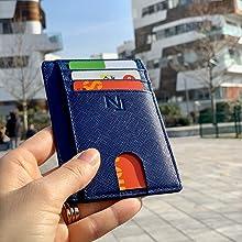 portafoglio nailati blu