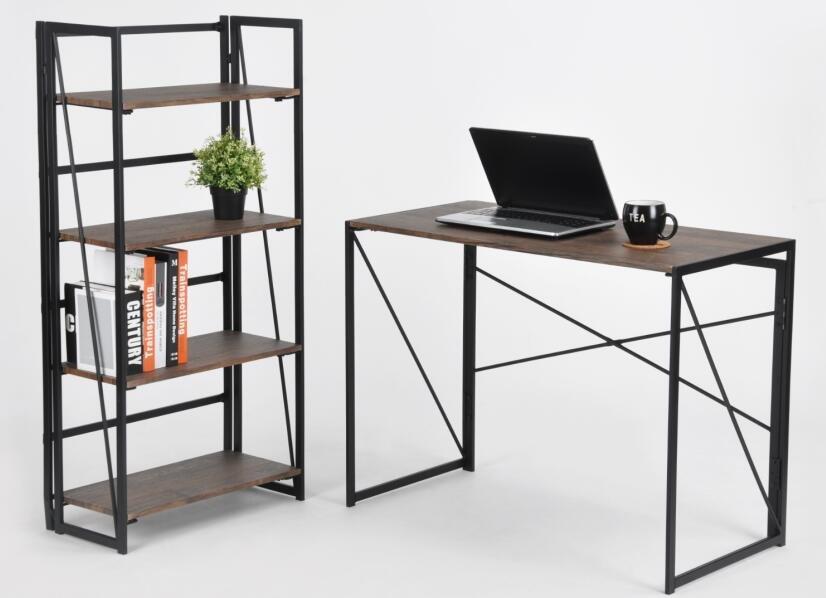 Coavas pieghevole scrivania pc in legno pieghevole tavolo - Tavolo da studio ...