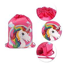 Già personalizzata Unicorno Zaino-Elana o Jessica-Rosa