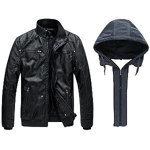 Cappuccio rimovibile per look diversi tra elegante giacca da equitazione con  cappuccio e bomber casual con colletto. fde68406e44
