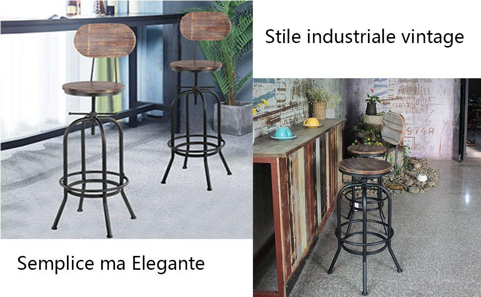 Sgabelli vintage bar taverna sala eur picclick it