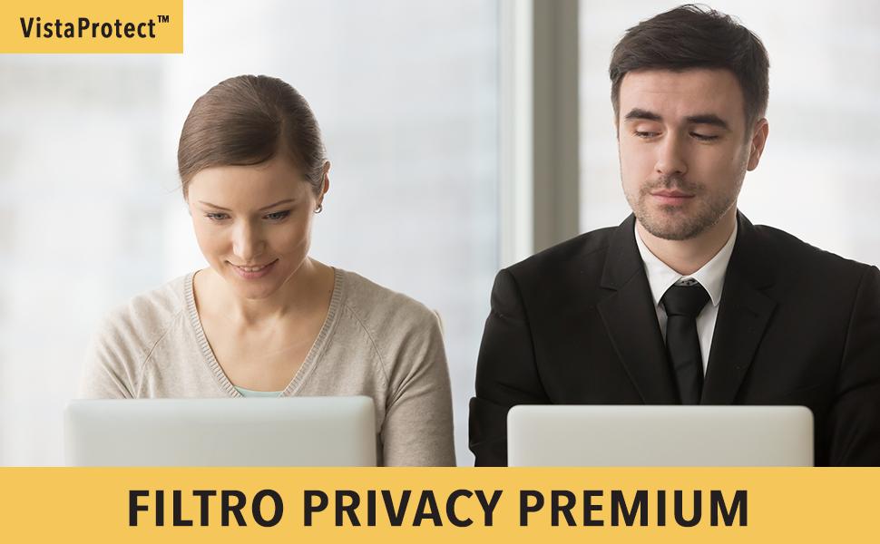 15 Pollici VistaProtect Filtro Privacy Premium Pellicola de Protezione per Laptop e Computer Portatile Microsoft Surface Book 2