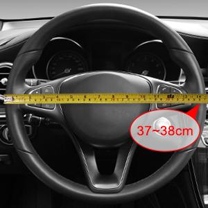 si inserisce 37-38 cm di diametro 1 Nero /& Effetto Legno Volante Copertura SWWG