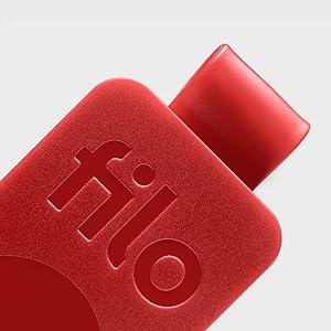 8206d1fa62 FiloTag Keyfinder | Localizzatore di Oggetti tramite App. Tracker Bluetooth  | Ritrova gli Oggetti che Hai Perso | Colore Bianco. Misure: 25x41x5mm | ...