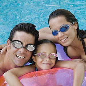 occhiali da nuoto per bambini