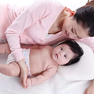 Cuscino Antisoffoco anallergico antireflusso neonato bebe