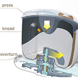 FIMEI Impastatrice Planetaria Fermentativo con Automatico e Funzione di Cronometraggio e Controllo del microcomputer e con 3 Modalità e 3.5L Ciotola Antiaderente (3.5L) ((3.5L))