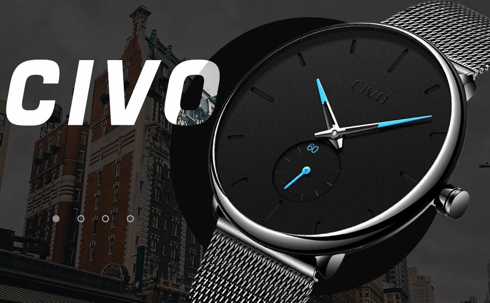orologio nero orologio elegante eleganti Ragazzi adolescente