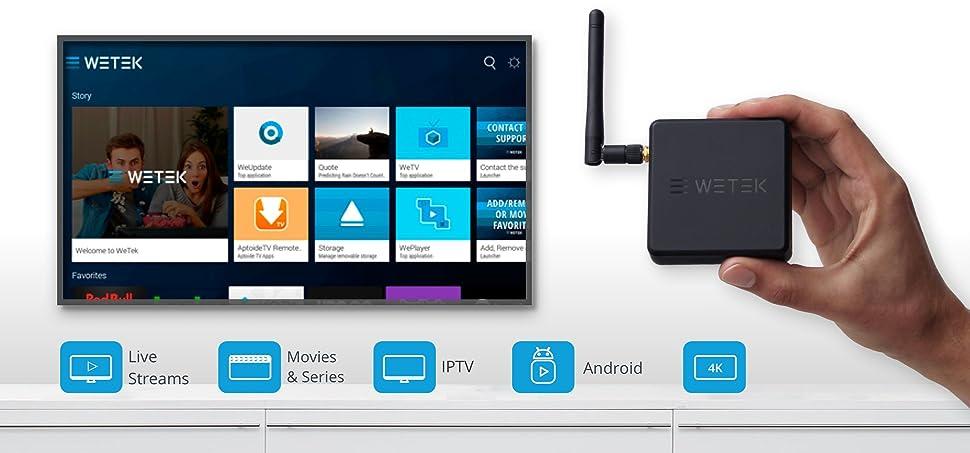 wetek core%2C hub%2C play2s  WeTek Hub Android Smart TV box Bluetooth 4.0 Ultra HD 4k HDCP 2.2 H ...