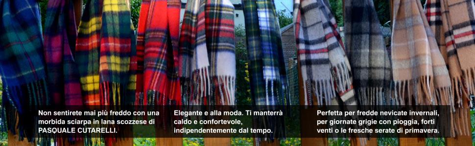 Con Gordon Cutarelli Lana Sciarpa In Tartan Pasquale Unisex Dress Izd8w