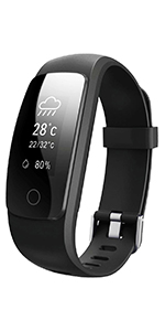 orologio fitness tracker smartwatch android cardiofrequenzimetro da polso braccialetto smart watch