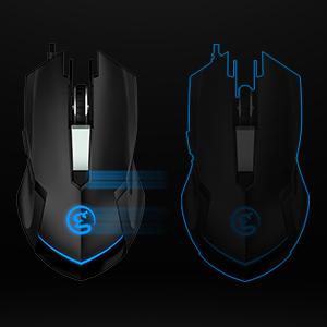 GameSir GM190 Gaming Mouse DPI & POLLING RATE Adjustment