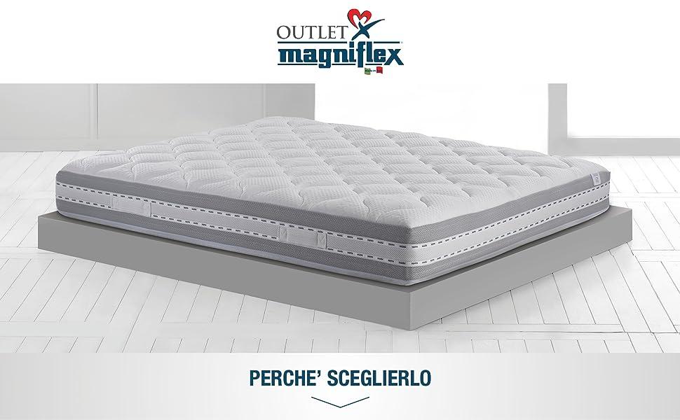 Magniflex Materassi Prezzi.Magniflex Materasso Singolo Memory 90x200 Cm 5 Zone
