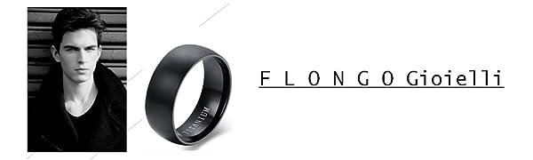 anello nero uomo