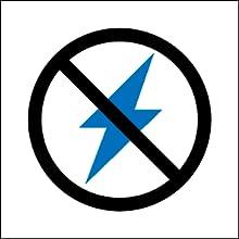 Non elettricamente conduttiva, non corrosiva