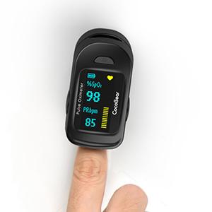 Pulsossimetro,Saturimetro da Dito Portatile