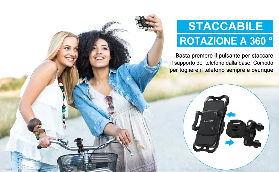 supporto smartphone per bici