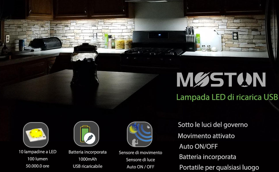 Parete Led Lampada-Segin luce scale per interni ed esterni struttura piatta Argento-GRA