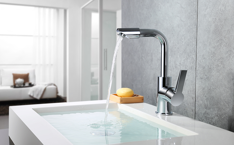 Homelody miscelatore monocomando per lavabo rubinetto bagno lavabo