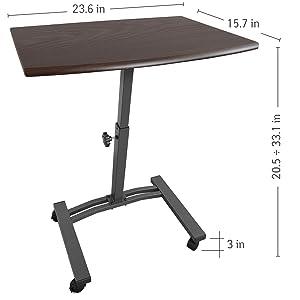 Tatkraft Salute Tavolino per PC