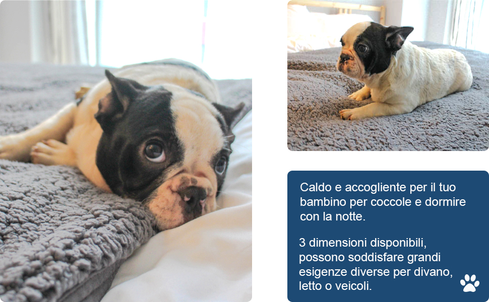 Tappeto Morbido Per Cani : Furrybaby premio soffice vello coperta cane molto morbido e caldo