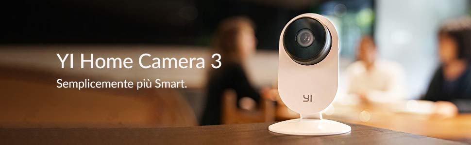 YI Home Camera 3: caratteristiche