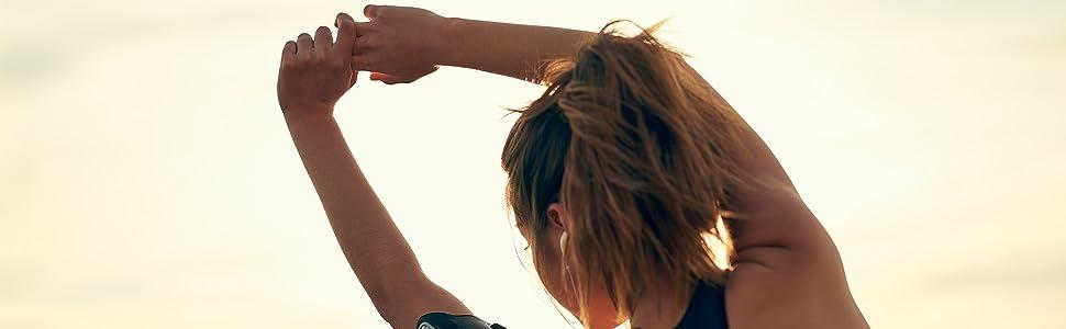 Insonder Elastiche Fitness Set di 5 Banda Elastica Fasce Resistenza per Fitness Yoga Crossfit