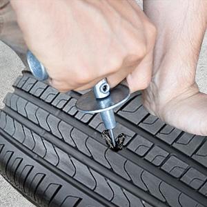 kit di riparazione pneumatici