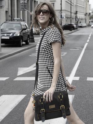 Catwalk Collection Handbags - Abbey Road Borsetta