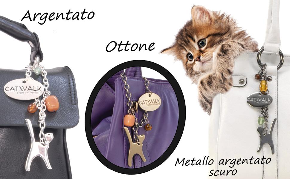 Ciondolo Cat Bag in omaggio con ogni borsa