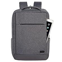 6e10a3dc07 Tecool Zaino Porta PC Portatile 15.6 Pollici Unisex con Porta USB ...
