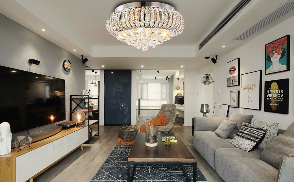 Plafoniera Per Sala Da Pranzo : Cristallo luce di soffitto kjlars lampada moderna lampadario